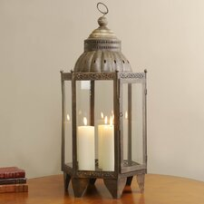 Moracco Iron and Glass Lantern