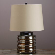 """Bella 22"""" H Table Lamp with Empire Shade"""