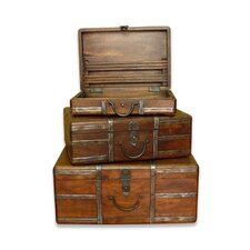 Portobello Travel Trunk (Set of 3)
