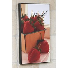 <strong>Wilson Studios</strong> Strawberries Wall Clock