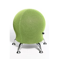 Sitness 5 Ball Stool in Green