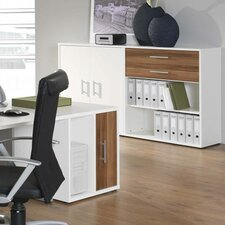 Mura Desk High Storage Unit