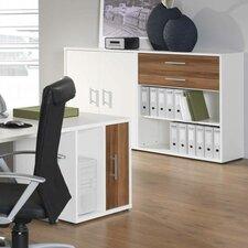 Mura Desk High Storage Unit
