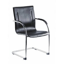 Guest Contemporary Cantilever Reception Chair