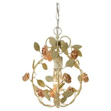Ramblin Rose 1 Light Mini Chandelier
