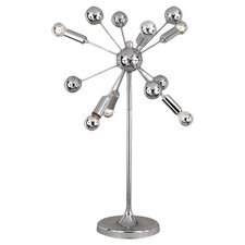 <strong>AF Lighting</strong> Supernova 6 Light Table Lamp