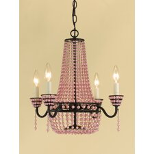 Parlor 4 Light Mini Chandelier
