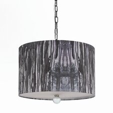 Horizons Trees 3 Light Drum Pendant