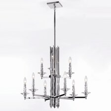 Candice Olson Trevor 9 Light Chandelier