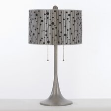 "Candice Olson Drizzle 29.5"" H Table Lamp with Drum Shade"