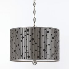 Candice Olson Drizzle 3 Light Drum Pendant