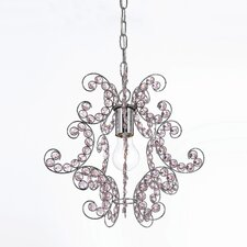 <strong>AF Lighting</strong> Elements Sweet Dream 1 Light Foyer Pendant