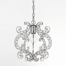 <strong>AF Lighting</strong> Elements Rapture 1 Light Foyer Pendant