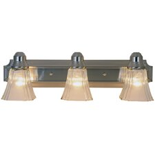 <strong>AF Lighting</strong> Decorative 3 Light Bath Vanity Light