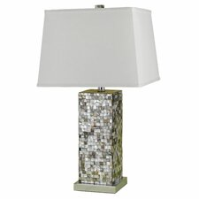 <strong>AF Lighting</strong> Sahara 1 Light Table Lamp