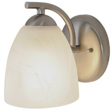 Contemporary 1 Light Bath Vanity Light