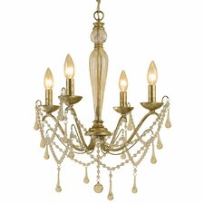 <strong>AF Lighting</strong> Sophia 4 Light Mini Chandelier