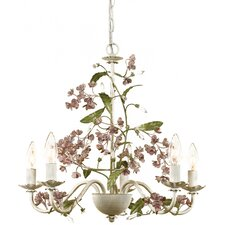 <strong>AF Lighting</strong> Grace 5 Light Chandelier