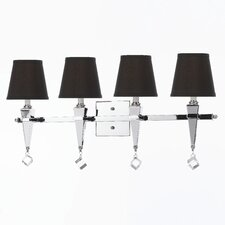 <strong>AF Lighting</strong> Margo 4 Vanity Light Wall Sconce