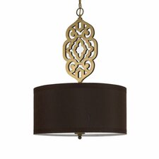 Candice Olson Grill 4 Light Drum Pendant