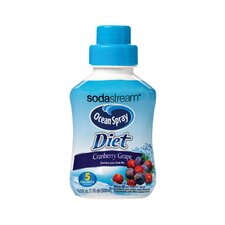 Ocean Spray Diet Cranberry Grape Juice Mix (Set of 4)