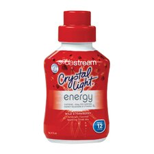 Crystal Light Strawberry Energy Soda Mix (Set of 4)