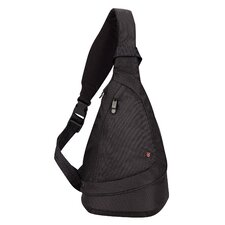Lifestyle Accessories 3.0 Tear Drop Mono-Sling On-The-Go Travel Bag in Black