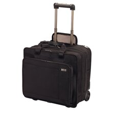 "Architecture® 3.0 Rolling Trevi 15.6"" Expandable Wheeled Laptop Case in Black"