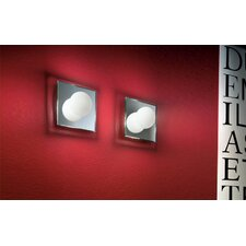 <strong>Murano Luce</strong> Nelly 1 Light Wall Sconce