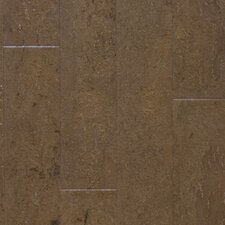 "Almada Nevoa 4-1/8"" Engineered Locking Cork Flooring in Terra"