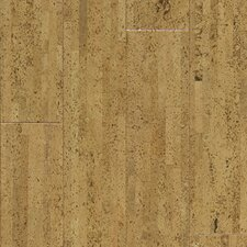"Almada Fila 4-1/8"" Engineered Locking Cork Flooring in Claro"