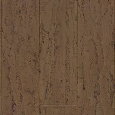 "Natural Cork New Earth Allegro 4-1/8"" Engineered Locking Cork Flooring in Casca"