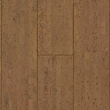 "Natural Cork New Earth Volare 4-1/8"" Engineered Locking Cork Flooring in Avela"