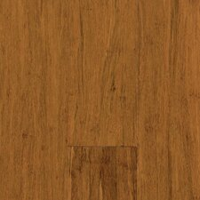 "Natural Bamboo Expressions 5-1/4"" Solid Locking Strand Woven Bamboo Flooring in Spice"
