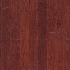 "<strong>US Floors</strong> Glueless Locking 5-1/4"" Engineered Bamboo Flooring in Cognac"