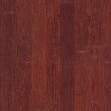 "Glueless Locking Bamboo 5-1/4"" Engineered Bamboo Flooring in Cognac"