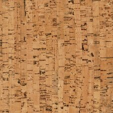 "Natural Cork Glue Down Tiles 12"" Homogeneous Cork Parquet Flooring in Edipo Matte"