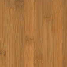 "Glueless Locking 5-1/4"" Engineered Bamboo Flooring in Horizontal Spice"