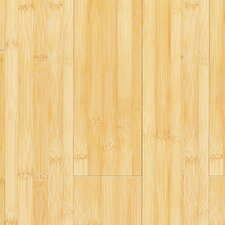 "Glueless Locking 5-1/4"" Engineered Bamboo Flooring in Horizontal Natural"
