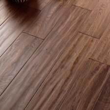 "Carriage House 5"" Locking Engineered Oak Flooring in Caramel"