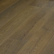 "Navarre 10-1/4"" Smooth Rustic Engineered Oak Flooring in Simorre"