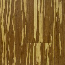 "Natural Bamboo 3-3/4"" Engineered Strand Woven Bamboo Flooring in Tiger"