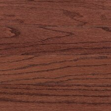 "<strong>Columbia Flooring</strong> Augusta 5"" Engineered Red Oak Flooring in Henna"