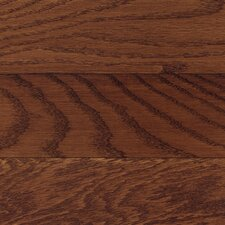 "Washington 2-1/4"" Solid Hardwood Oak Flooring in Burgundy"