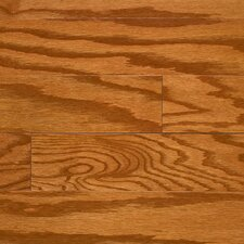 "<strong>Columbia Flooring</strong> Intuition with Uniclic 4"" Engineered Hardwood Red Oak Flooring in Honey"