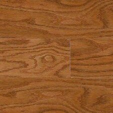 "Intuition with Uniclic 4"" Engineered Hardwood Red Oak Flooring in Cocoa"