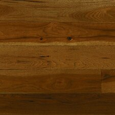 "Monroe 5"" Solid Hardwood Hickory Flooring in Taupe"