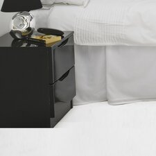 Visualise Orient 2 Drawer Bedside Table