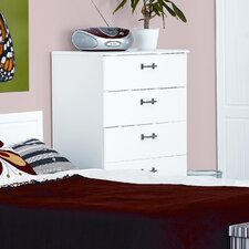 Visualise Century 4 Drawer Chest