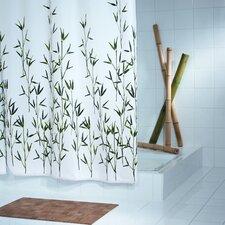 """Duschvorhang """"Bambus"""" in Grün"""